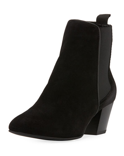 Aquatalia Felicite Mixed Side Gore Bootie