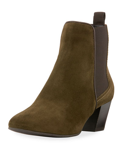 Felicite Mixed Side Gore Bootie