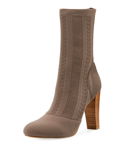 Shirley Stretch-Knit Tall Bootie