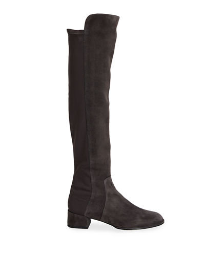 Fifo Suede Stretch Over-the-Knee Boot