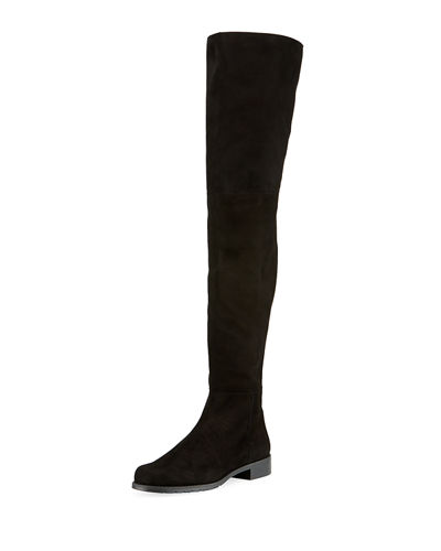Hilo Over-The-Knee Suede Boot