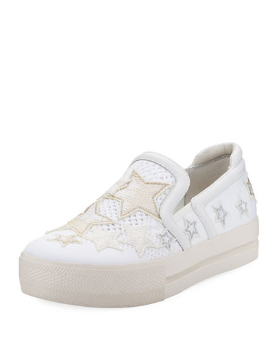 Jeday Knit Skate Sneaker with Stars