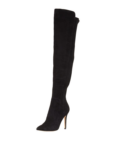 Pearle Suede Over-The-Knee Boot