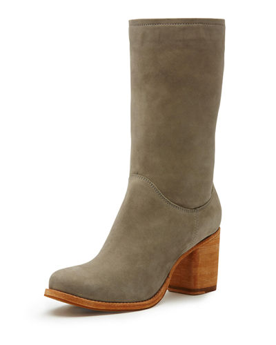 Addie Mid-Calf Suede Boot