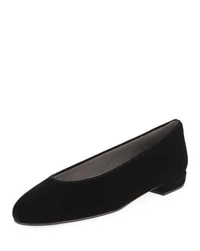 Chicflat Leather Ballerina Flat