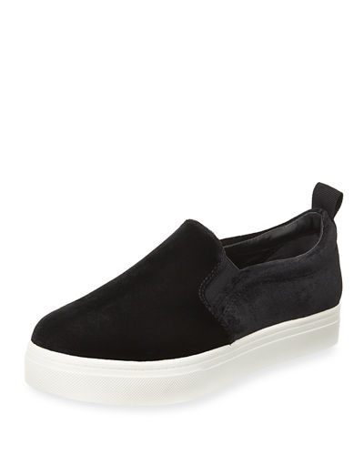 Scotlyn Low-Top Velvet Sneaker