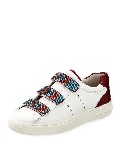 Ash Pharrel Beaded Star Platform Sneakers