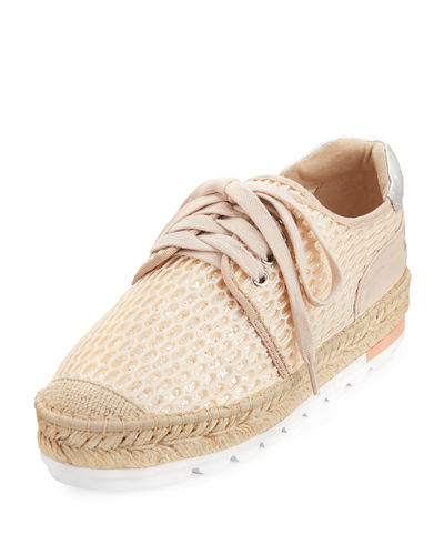 Revolve Perforated Espadrille Sneaker