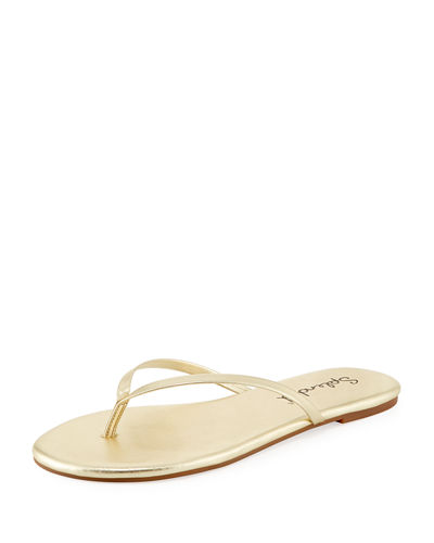 Madrid Leather Flip-Flop Sandal