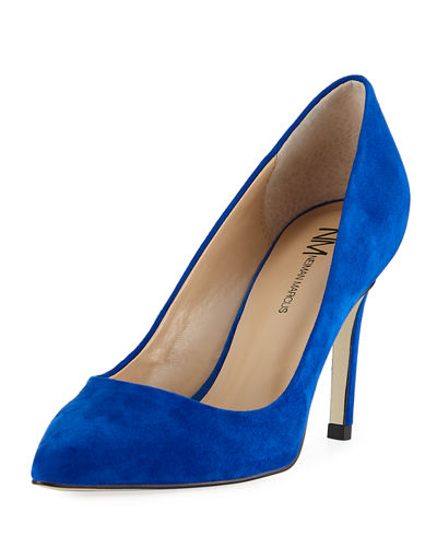 Jane Suede Pointed Pump
