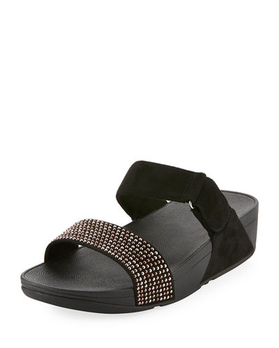 Lulu Pop Stud Slide Sandal