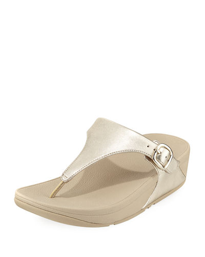 The Skinny Leather Thong Sandal