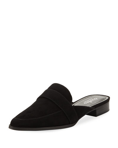 Charles by Charles David Emma Suede Slide Flat