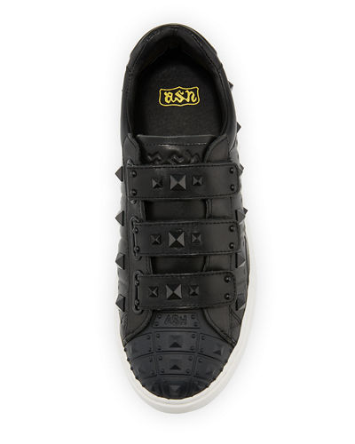 Peace Pyramid-Studded Sneakers