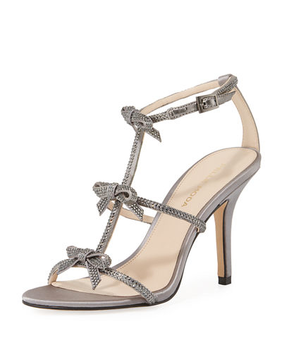 Kiss  Crystal-Embellished High Sandal