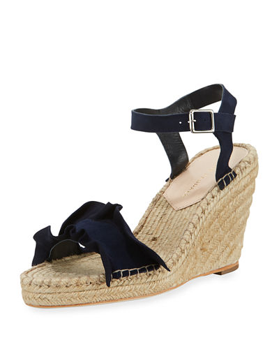 Loeffler Randall Suede Espadrille Sandals cheap best prices best store to get cheap online clearance 2014 for sale under $60 D5iCx