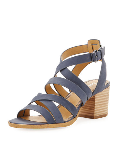 Bevin Leather Strappy Sandal