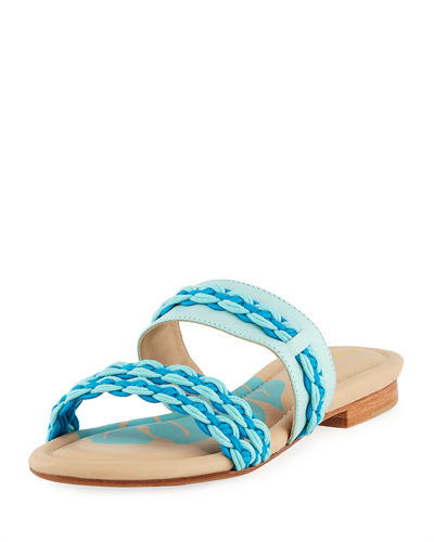 Sailor Ropes Flat Slide Sandal