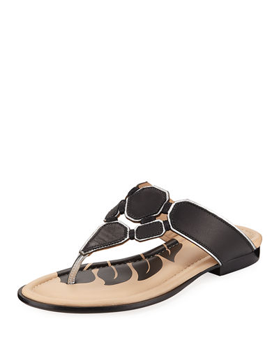 Tropical Spring Thong Sandal