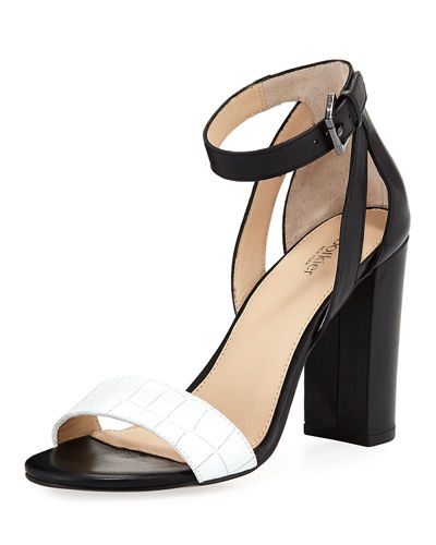 Gianna Colorblock High Sandal