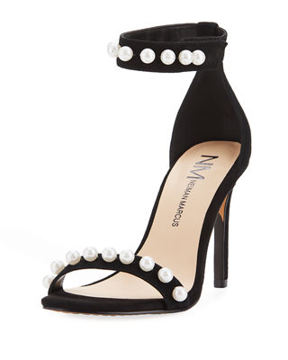 ARENA SUEDE PEARLESCENT SANDAL