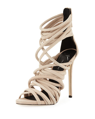 pick a best online Giuseppe Zanotti Suede Multistrap Sandals how much cheap online collections for sale sI7AwNIP45