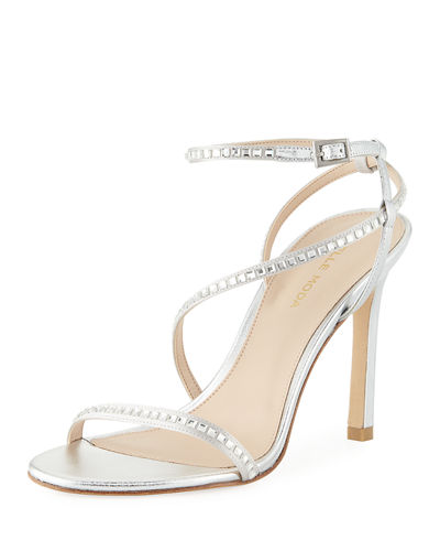 Angler Strappy Satin Evening Sandal