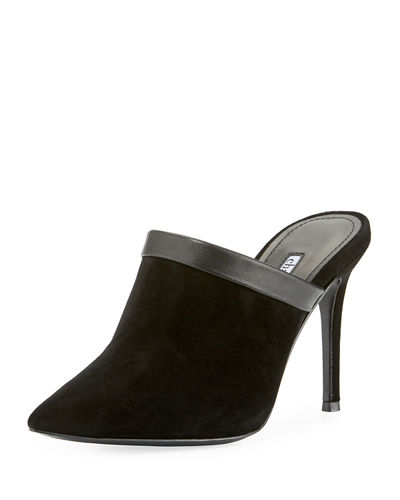 Charles David  STILA SUEDE HIGH MULE