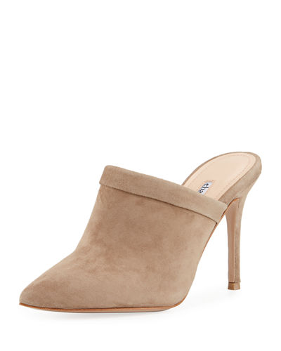 Stila Suede High Mule