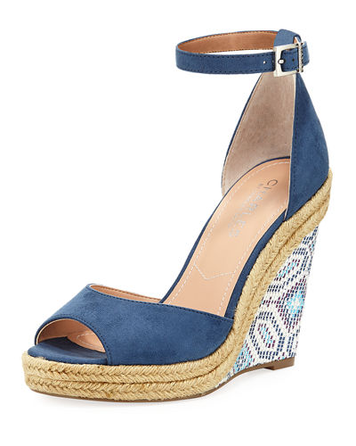 Bay Wedge Sandal