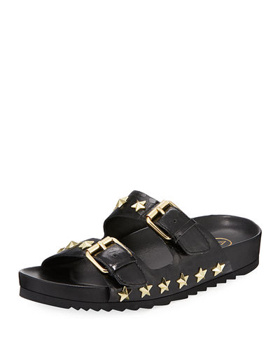 United Star-Studded Slide Sandal