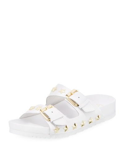 Ash United Star-Studded Slide Sandal