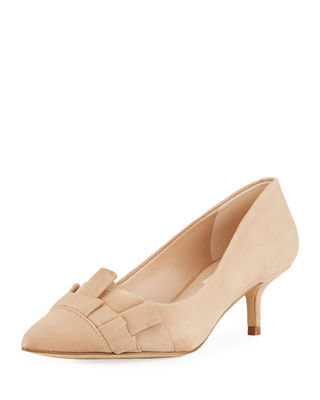 Karl Lagerfeld Paris Larissa Low Ruffle Pump $84