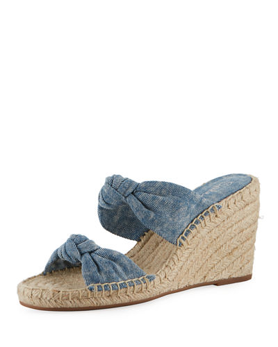 Brooks Suede Slide Sandal