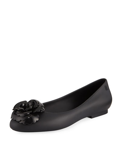 Doll Fem Flower-Toe Flat