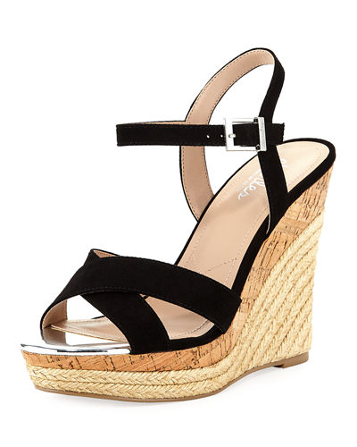 Archie Microsuede® High Wedge Sandal