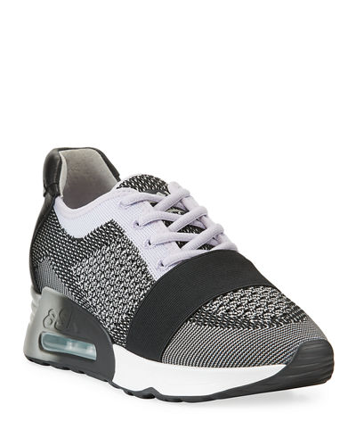 Lacey Bis Knit-Mesh Sneakers
