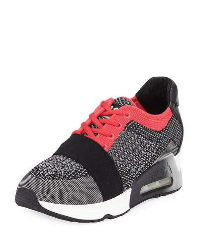 Ash Lacey Bis Knit-Mesh Sneakers