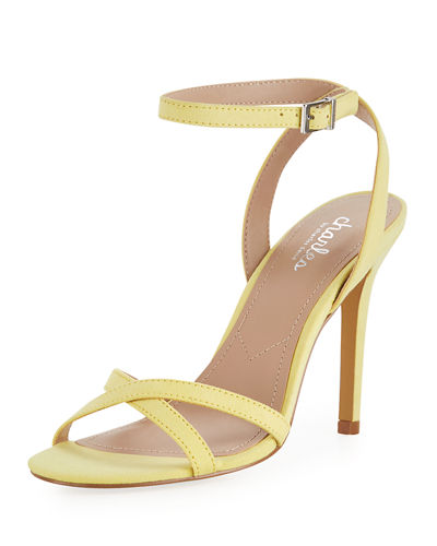 Charles by Charles David Rome Faux-Suede High-Heel Sandal