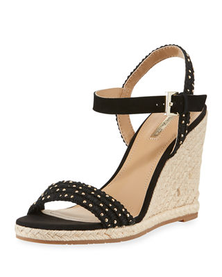 WALSH STUDDED WEDGE SANDAL