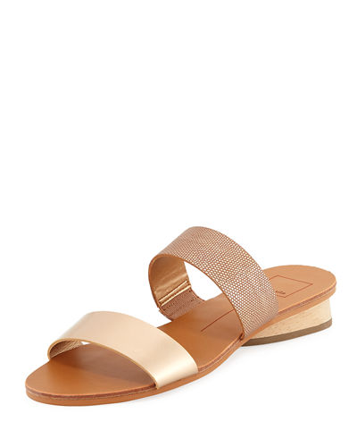 Abree Two-Band Slide Sandal