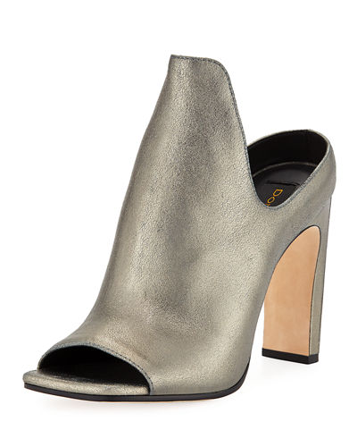 Donna Karan Sutton Metallic High Mule
