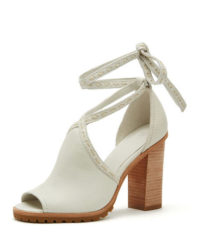 Suzie Pickstitch Lug-Sole Sandal