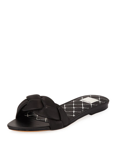 Kimana Braided Flat Slide Sandal