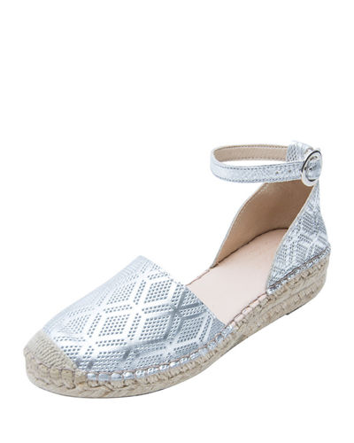 Ingrid Two-Piece Closed-Toe Flat Espadrilles