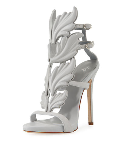 Coline Wings Patent 110mm Sandal
