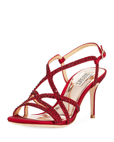Wilde Crystal-Embellished Sandals
