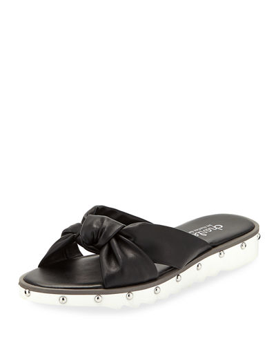 Snap Flat Sporty Slide Sandal