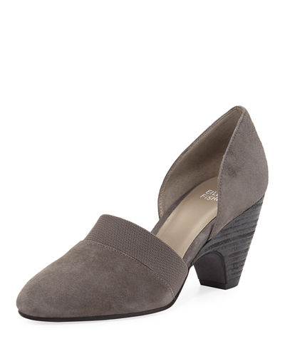 Bailey Suede d'Orsay Pumps
