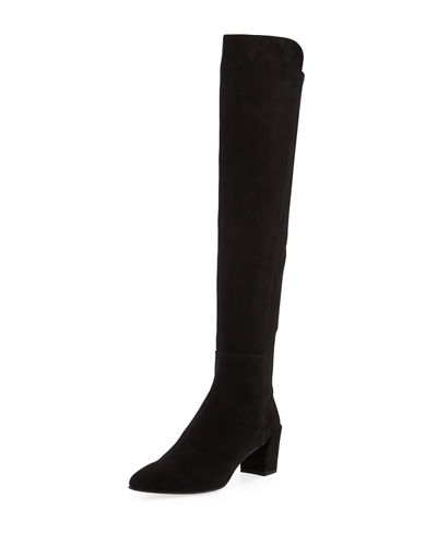Allwayhu Over-The-Knee Suede Boots